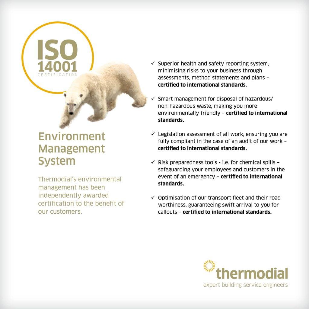 Thermodial Environmental ISO 14001