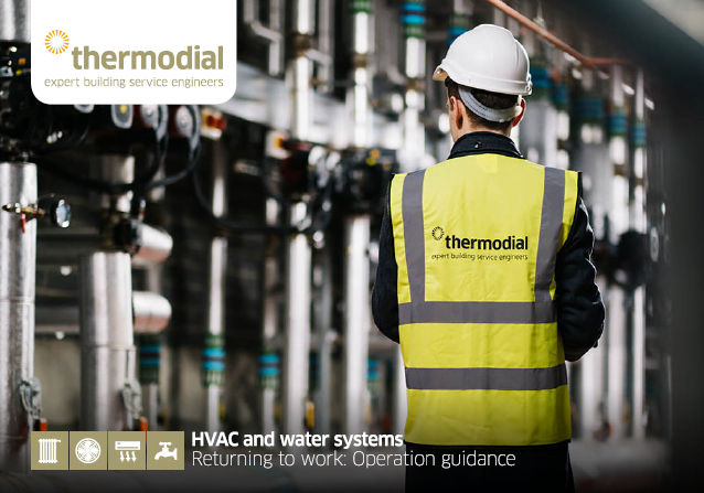 HVAC and water systems - returning to work operation guidance manual cover