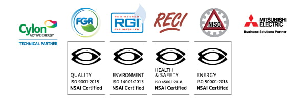 Thermodial certification logos and international standards