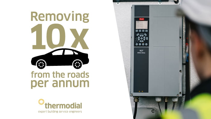 Heat recovery system energy saving