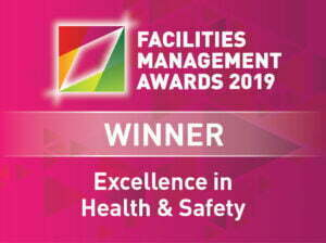 Thermodial winner of Excellence in Health and Safety award at the FM Awards